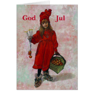 Carl Larsson Christmas Card