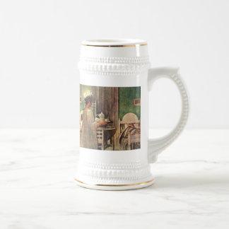 Carl Larsson Christmas Lucia Stein Coffee Mugs