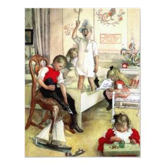 Carl Larsson Christmas Morning Card