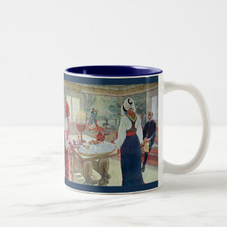 Carl Larsson  En Bergman Stuga Swedish Fine Art Two-Tone Coffee Mug