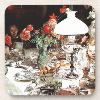 Carl Larsson Family Dinner Table Coaster