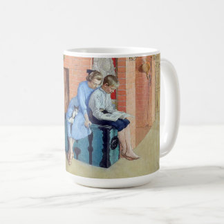 Carl Larsson Family Wife Son Home Mug