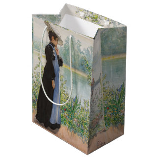 Carl Larsson Karin Lake Flowers Gift Bag