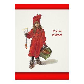 Carl Larsson Little Swedish Girl: Brita as Iduna Card