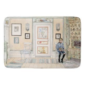 Carl Larsson Living Room Home Son Boy Bath Mat