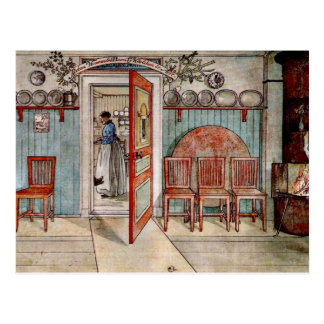 Carl Larsson painting: Old Anna Postcard