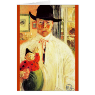 Carl Larsson  Self Recognition Card