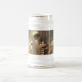 Carl Larsson St Lucia Day Christmas in Sweden Mug