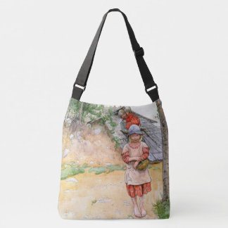 Carl Larsson Summer Family Girl Tote Bag