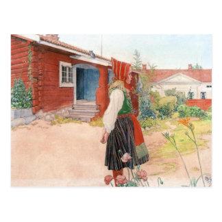 Carl Larsson  The Falun Home Postcard