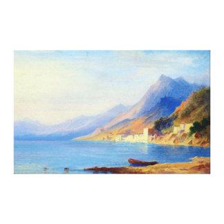 Carl Morgenstern Southern Coastline Canvas Print