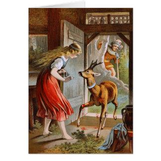 Carl Offterdinger: Little Brother & Little Sister Card