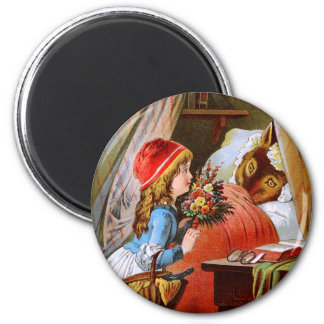 Carl Offterdinger: Little Red-Cap 2 Inch Round Magnet