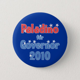 Carl Paladino for Governor 2010 Star Design 2 Inch Round Button