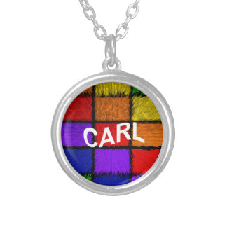 CARL SILVER PLATED NECKLACE