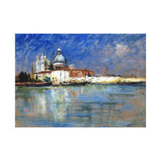 Carl Skånberg From Venice Canvas Print
