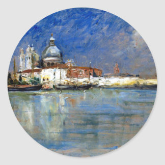 Carl Skånberg From Venice Classic Round Sticker