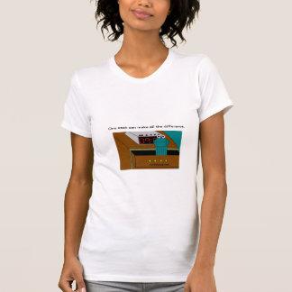 carl the sock logo scoop T shirt for ladies