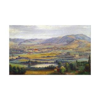 Carl Thöndel Industrial Landscape Canvas Print