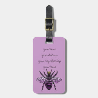 Carleigh's Queen Bee Luggage Tag