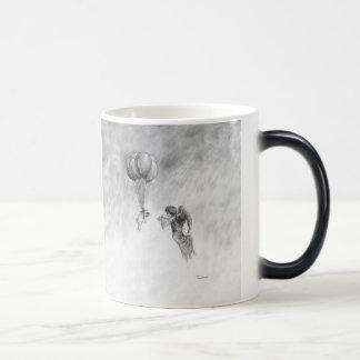 Carlin et ange mug magique