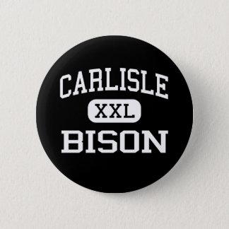 Carlisle - Bison - High School - Carlisle Arkansas 2 Inch Round Button