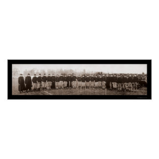 Carlisle Football Team Photo 1905 Poster