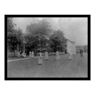 Carlisle Indian School in Carlisle, PA 1901 Poster