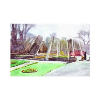 Carlisle Park Morpeth Canvas Print