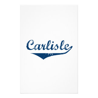 Carlisle Stationery Design