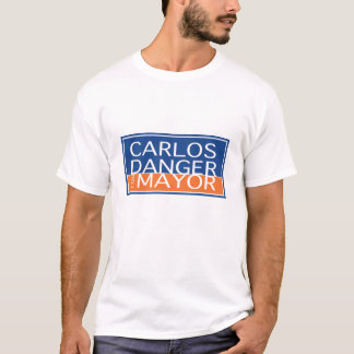 Carlos Danger For Mayor - Men's T-Shirt