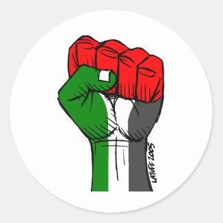 Carlos Latuff's Palestinian Fist Sticker