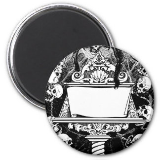 Carlos Neve, Book Illustration circa 1947 Mexico 2 Inch Round Magnet