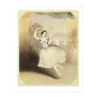 Carlotta Grisi (1819-99) in the Ballet of the Peri Postcard