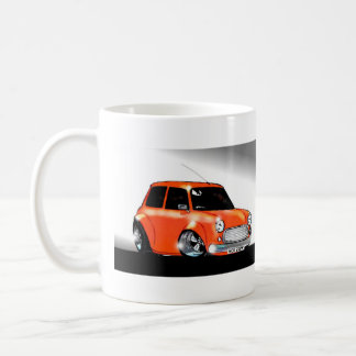 Carls Orange Mini Coffee Mug