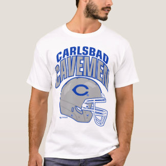 Carlsbad Cavemen Football Shirt