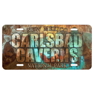 Carlsbad Cavern National Park License Plate