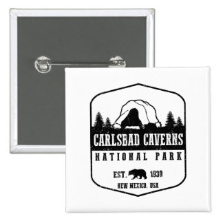 Carlsbad Caverns National Park 2 Inch Square Button