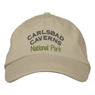 Carlsbad Caverns National Park Embroidered Hats