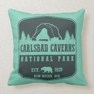 Carlsbad Caverns National Park Throw Pillow