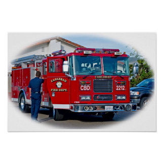 Carlsbad Fire Department Poster