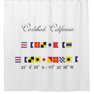 Carlsbad Shower Curtain