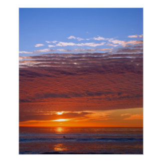 Carlsbad Sunset Poster