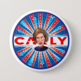 CARLY Fiorina for America 3 Inch Round Button