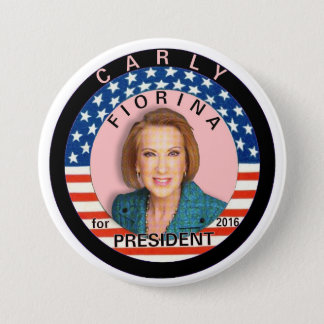 Carly Fiorina for President 2016 3 Inch Round Button