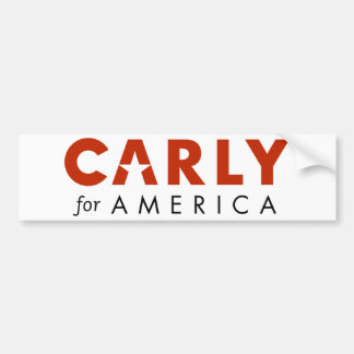 CARLY FIORINA for President 2016 bumper sticker