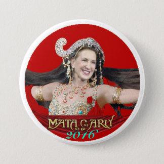 Carly Fiorina: Mata Carly 3 Inch Round Button