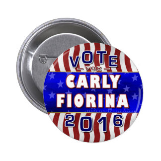 Carly Fiorina President 2016 Election Republican 2 Inch Round Button
