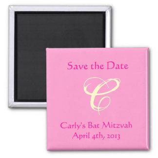 Carly Rebecca Bat Mitzvah Save the Date Magnet