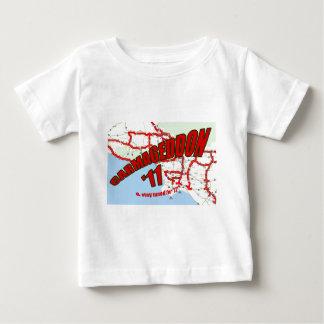 CARMAGEDDON 405 Gridlock in Los Angeles Get it now Baby T-Shirt